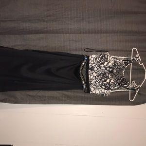 Size three prom dress